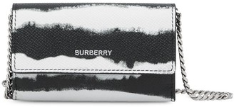 Burberry Watercolour Print Chain Wallet