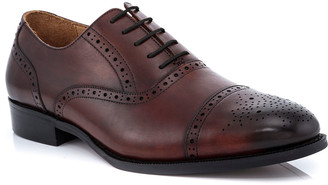 Ike Behar Men's Jared Brogue Leather Oxford Shoes
