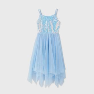 Cat & Jack Girls' Sequin Maxi Dress - Cat & JackTM