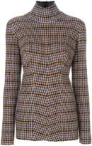 Stella McCartney checked turtleneck