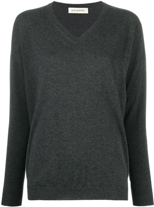 Gentry Portofino Fine Knit V-Neck Sweater