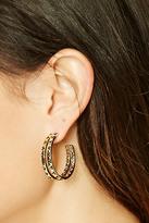 Forever 21 FOREVER 21+ House of Harlow Hoop Earrings