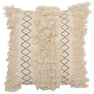 """Macrame Decorative Throw Pillow, 18x18"""" by Drew Barrymore Flower Home"""