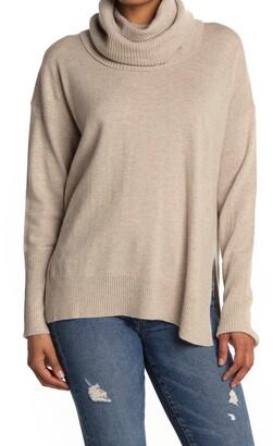 Diane von Furstenberg Ahiga Turtleneck Wool Blend Sweater