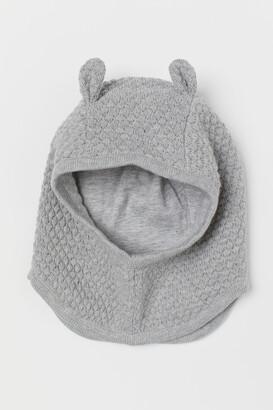 H&M Cotton Balaclava - Gray