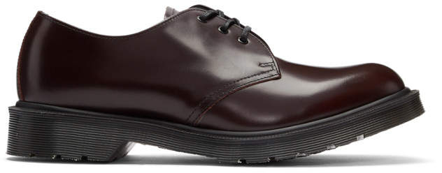 Dr. Martens Burgundy 1461 Classic Made in England Derbys