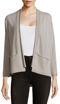 Inhabit Open Front Cashmere Cardigan