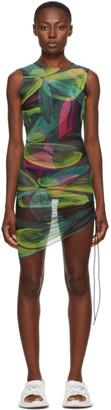 Louisa Ballou SSENSE Exclusive Green Heatwave Dress