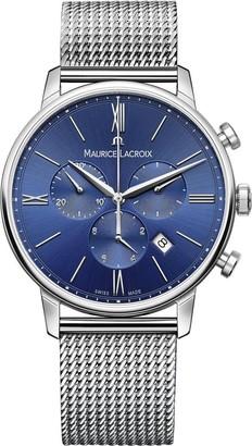 Maurice Lacroix Men's Eliros Swiss-Quartz Watch with Stainless-Steel Strap