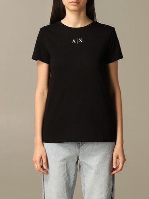 Armani Collezioni Armani Exchange T-shirt Armani Exchange T-shirt With Basic Logo