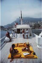 "Jonathan Adler Slim Aarons ""Scotti's Yacht"" Photograph"