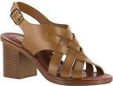 Bella Vita Leather Block Heel Sandals - Max