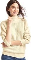 Gap Cozy turtleneck waffle sweater