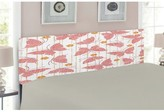 Artistic Butterfly Upholstered Panel Headboard East Urban Home Size: Twin