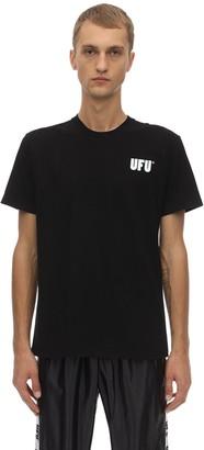 Ufu Used Future UFU AD COTTON JERSEY T-SHIRT