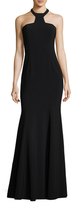 Jay Godfrey Mayall Halter Neck Gown With Open Back