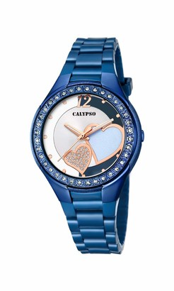 Calypso Women's Analogue Analog Quartz Watch with Plastic Strap K5679/R