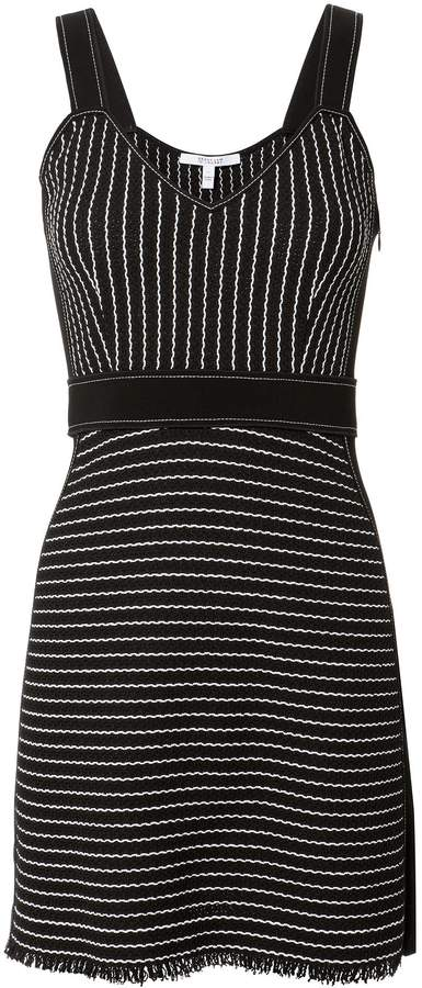 Derek Lam 10 Crosby Striped Mini Knit Dress