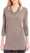 Gianni Bini Reese Cutout Sweater