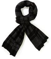 Murano Striped Cotton & Cashmere Scarf