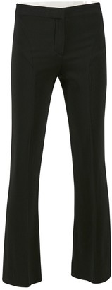 Versace Black Synthetic Trousers