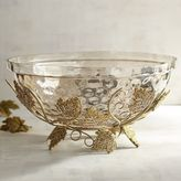 Pier 1 Imports Decorative Bowl with Maple Leaves
