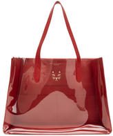 Charlotte Olympia Red Presley Tote