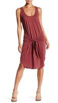 Socialite Sleeveless Tie Front Dress