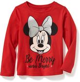 Old Navy Long & Lean Disney© Minnie Graphic Tee for Toddler