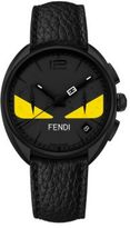 Fendi Momento Bug Chronograph Leather Watch