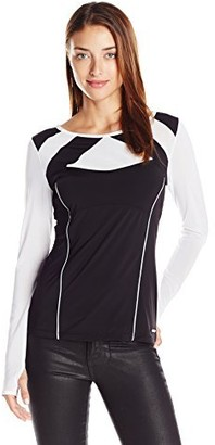 Blanc Noir Women's League Long Sleeve Tee