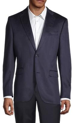 Saks Fifth Avenue Standard-Fit Silk Cashmere Sportcoat