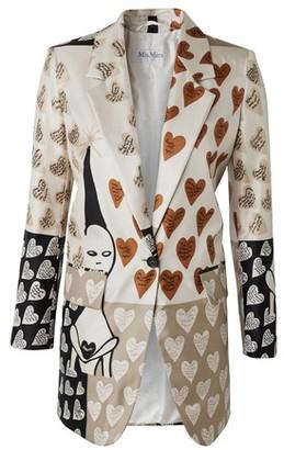 Max Mara Abete silk jacket