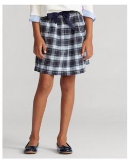 Polo Ralph Lauren Big Girls Tartan Plaid Oxford Skirt
