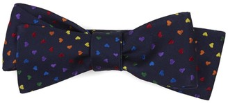 Tie Bar Love Is Love Navy Bow Tie