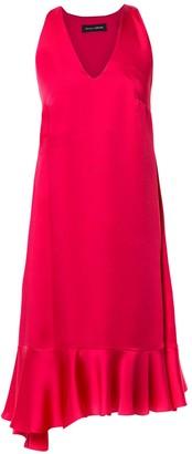 Gloria Coelho Camisola ruffled dress