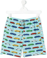 MC2 Saint Barth Teen car print swim shorts - kids - Polyamide/Polyester/Spandex/Elastane - 16 yrs