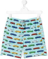 MC2 Saint Barth Teen car print swim shorts - kids - Polyamide/Polyester/Spandex/Elastane - 16 yrs