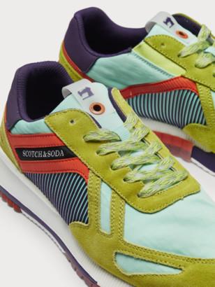 Scotch & Soda Vivex - colour block sneakers | Men