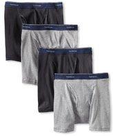 Fruit of the Loom Men's Low Rise Boxer Brief(Pack of 4)
