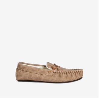 Joe Fresh Men's Slippers, Brown (Size L)