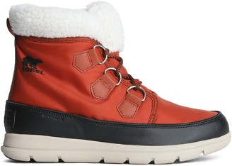 Sorel Carinival Fleece-trimmed Waterproof Shell Snow Boots