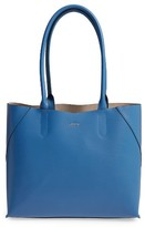 Lodis Blair Collection Cynthia Leather Tote - Blue