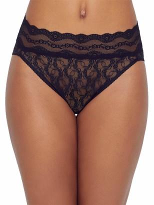 B.Tempt'd Women's Lace Kiss Hi Leg Brief Panty