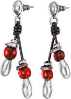 Uno de 50 Let It Flow Double Beaded Drop Earrings