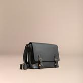 Burberry Grainy Leather Messenger Bag