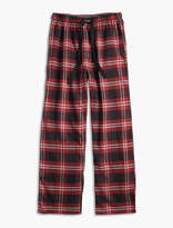 Lucky Brand Plaid Cotton Viscose Pant