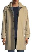 Burberry Reversible Gabardine & Tweed Trench Coat