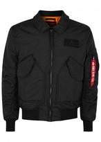 Alpha Industries Cwu Black Shell Flight Jacket