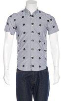 Saturdays NYC Polka-Dot Woven Shirt